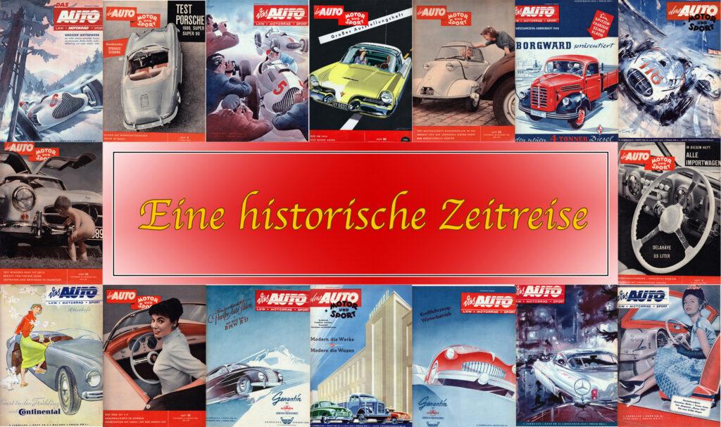 Eine Zeitreise mit unserem Auto Motor Sport Archiv!