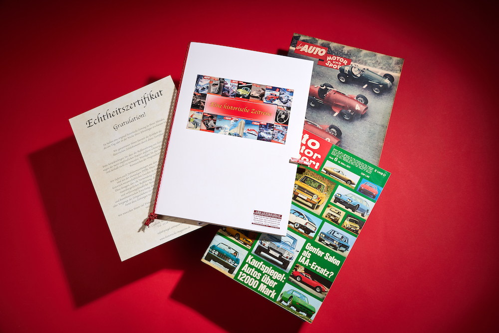 Unsere Auto Motor Sport Archiv Geschenkmappe