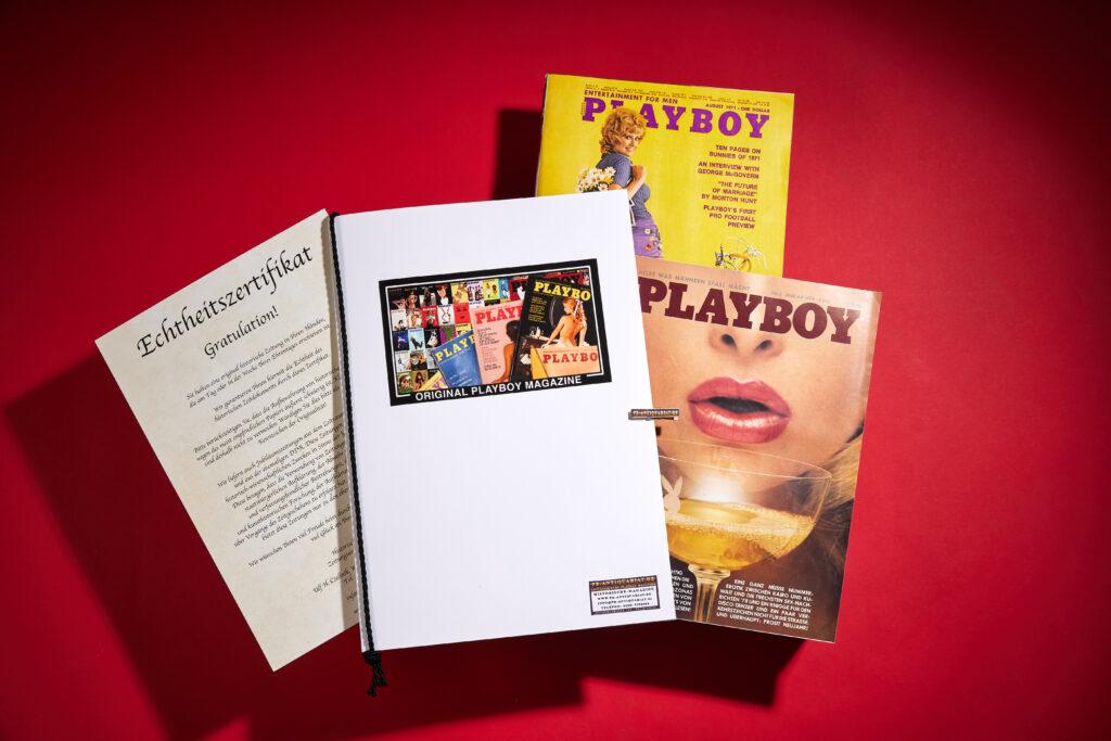 Geschenkmappe für Playboy
