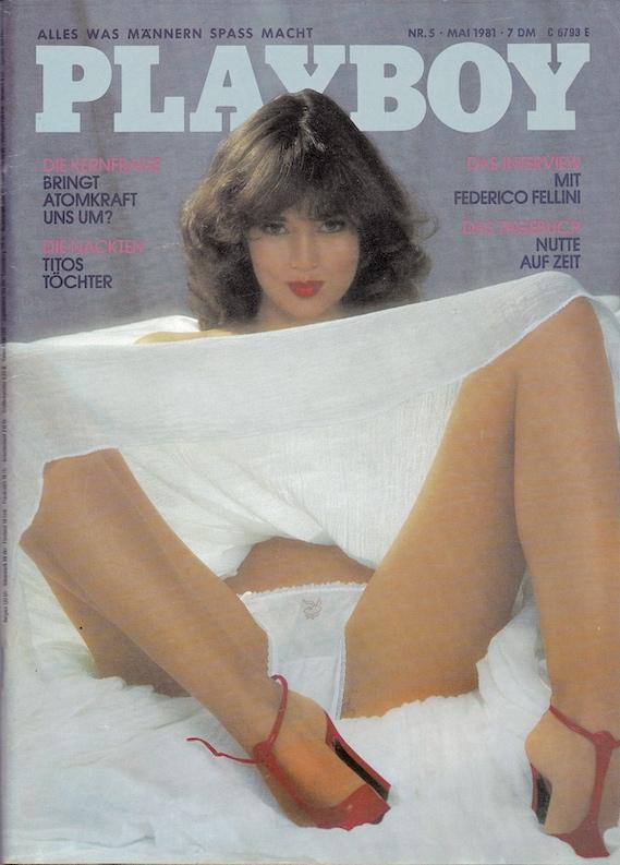 Original Playboy Magazin ab 1956: Hier die Ersatzausgabe des Playboys Mai 1981mit dem Interview mit Federico Fellini. Zu bestellen unter https://www.pb-antiquariat.de/playboy-1981/playboy-mai-1981?c=50
