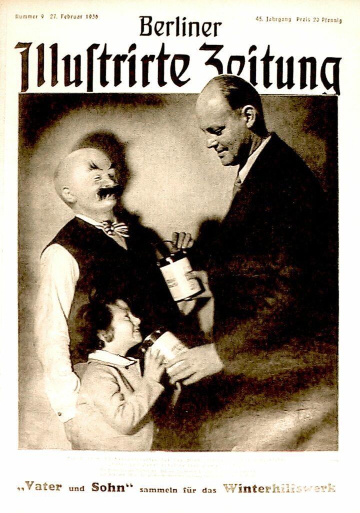 Berliner Illustrirte Zeitung Vater und Sohn