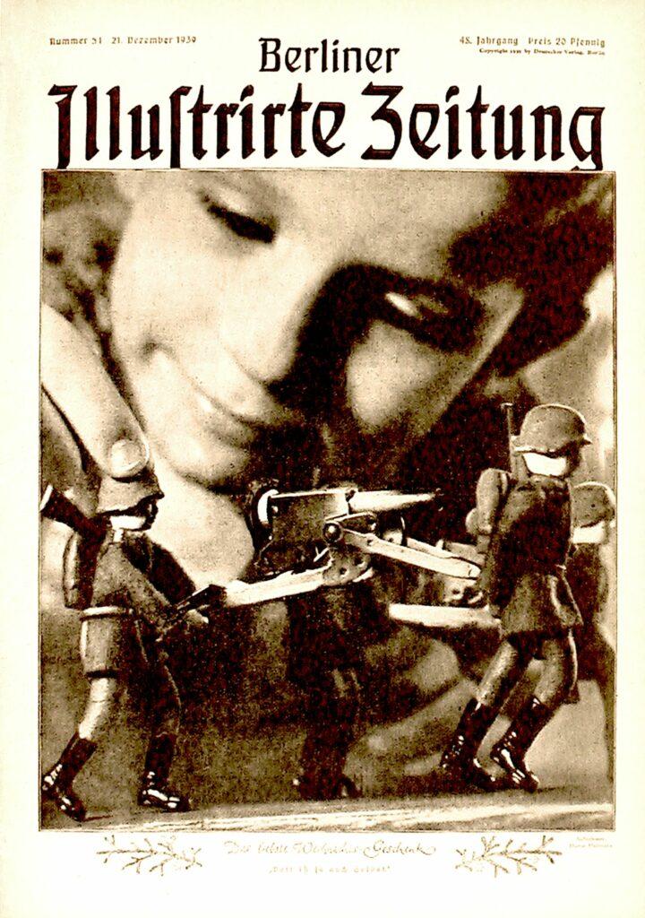 Weihnachtsausgabe Berliner Illustrirte Zeitung vom 21. Dezember 1939