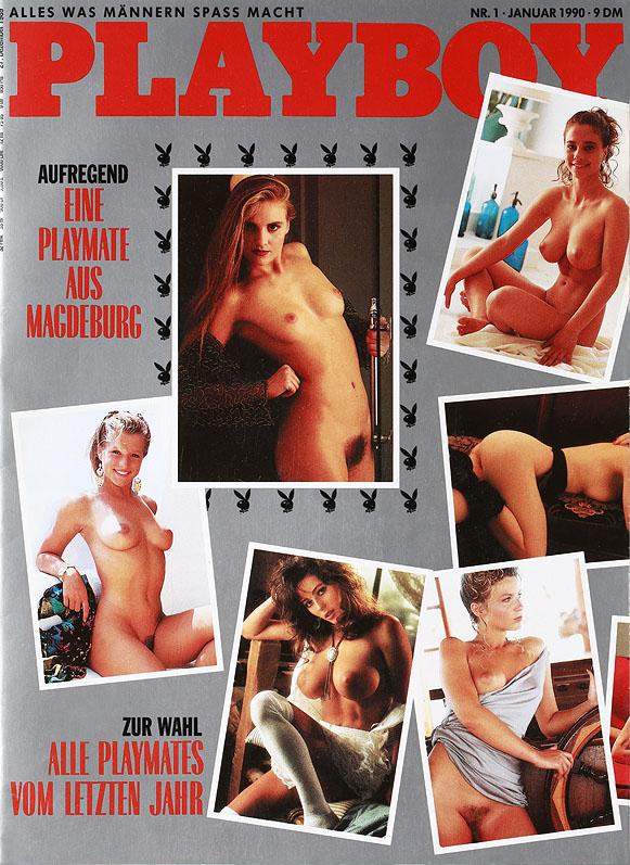 Playboy Januar 1990 mit Anja Kossak