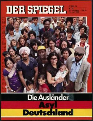 Zeitung 40. Geburtstag: Asylland Deutschland 1980