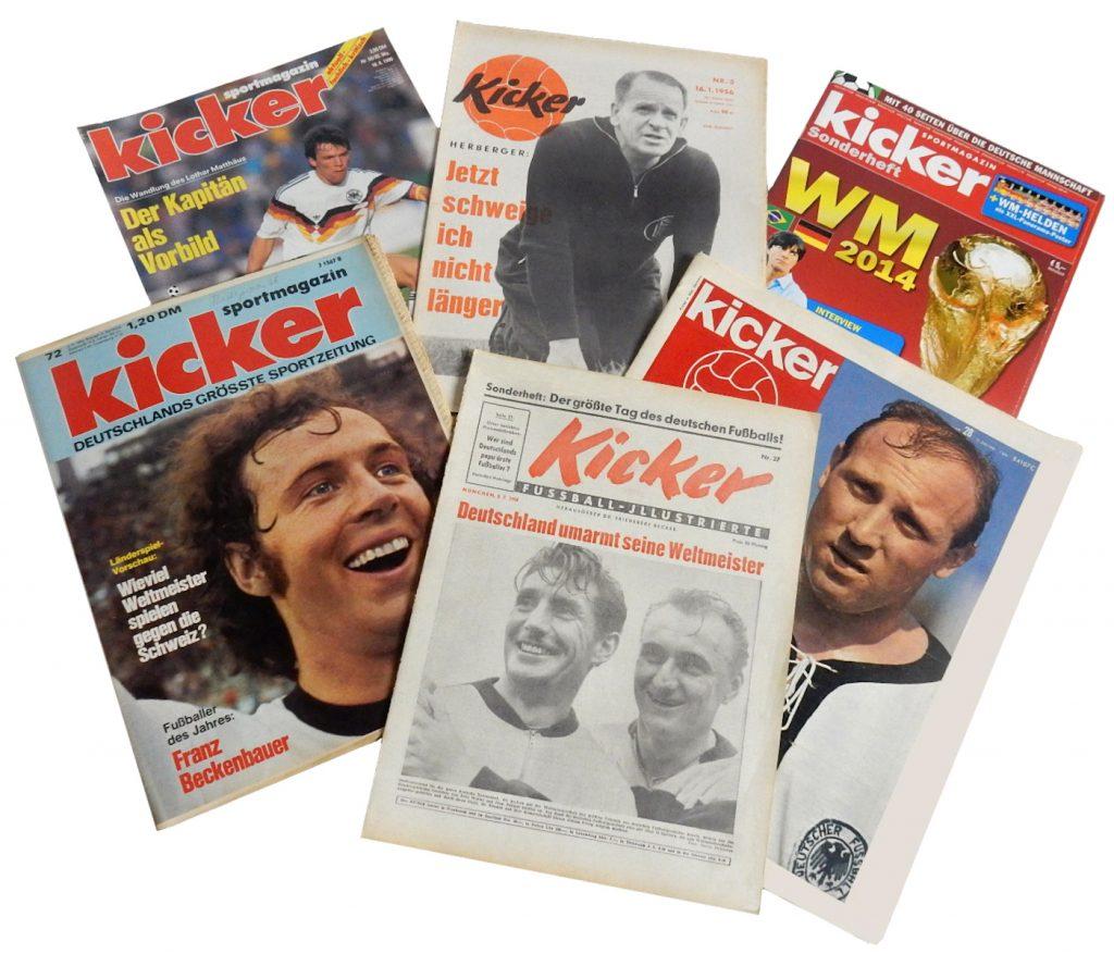 Der Kicker Sportmagazin ab 1946