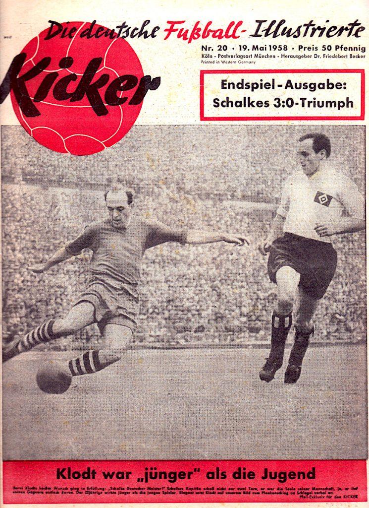 FC SCHALKE 04 Deutscher Meister 1958