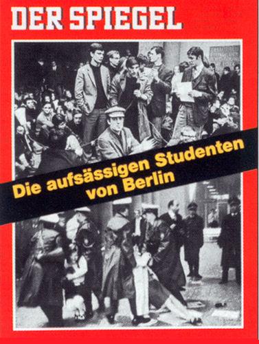 Spiegel-Cover Studentenproteste 1970: Geschenk zum 60. Geburtstag