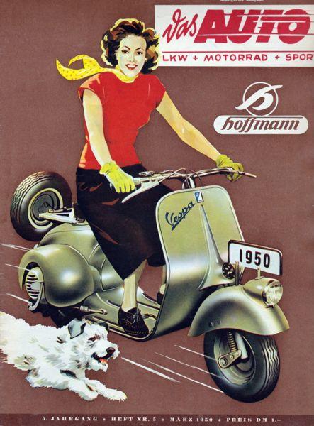 Zeitung 70. Geburtstag. Auto-Motor-Sport von 1950