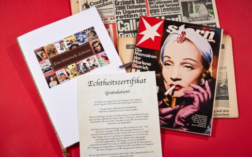 Original Zeitung zum 70. Geburtstag