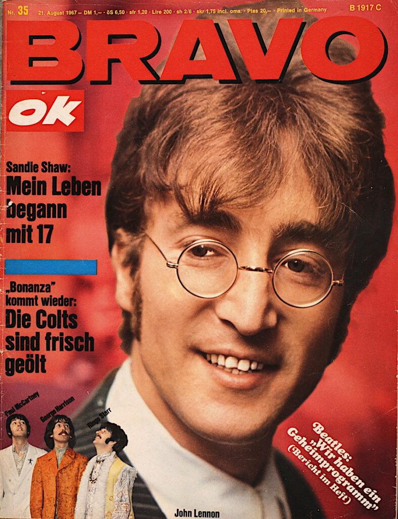 """Bravo Ok vom 21. August 1967 Beatles: """"Wir haben ein Geheimprogramm."""""""