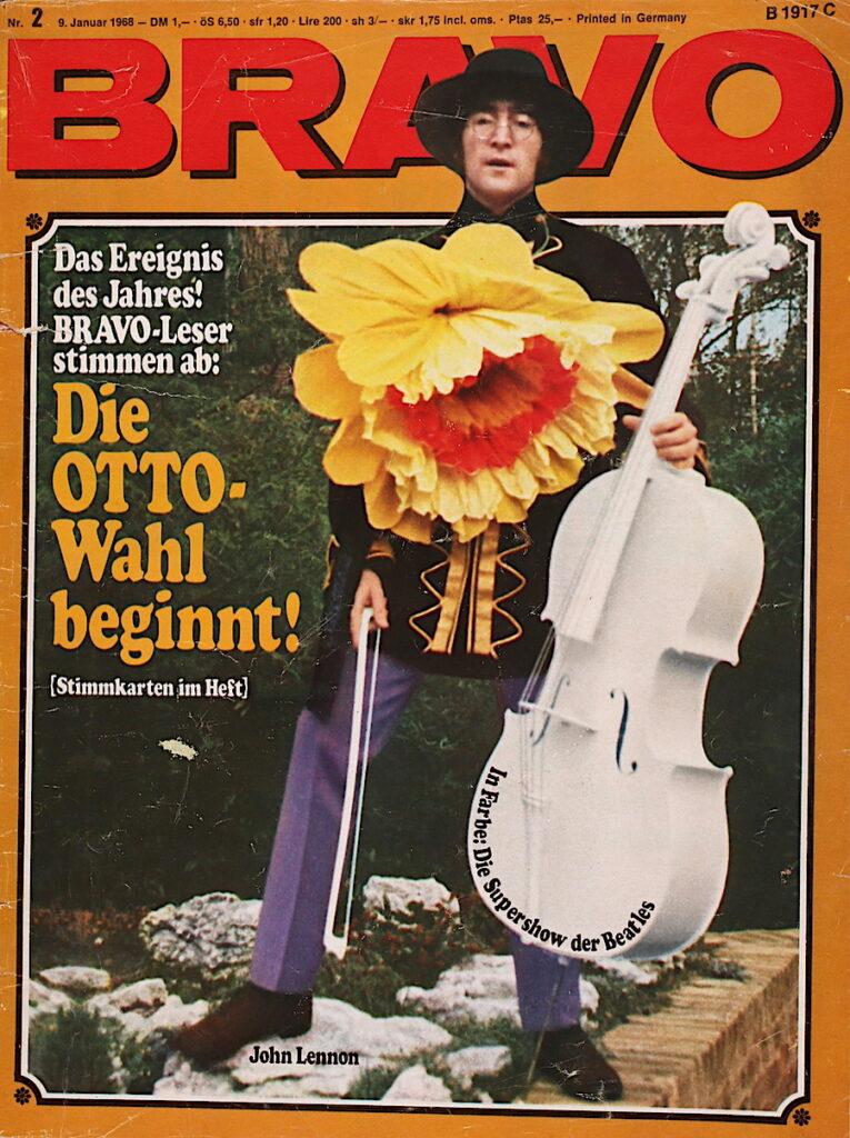 Die Bravo 9. Januar 1968 In Farbe: Die Supershow der Beatles