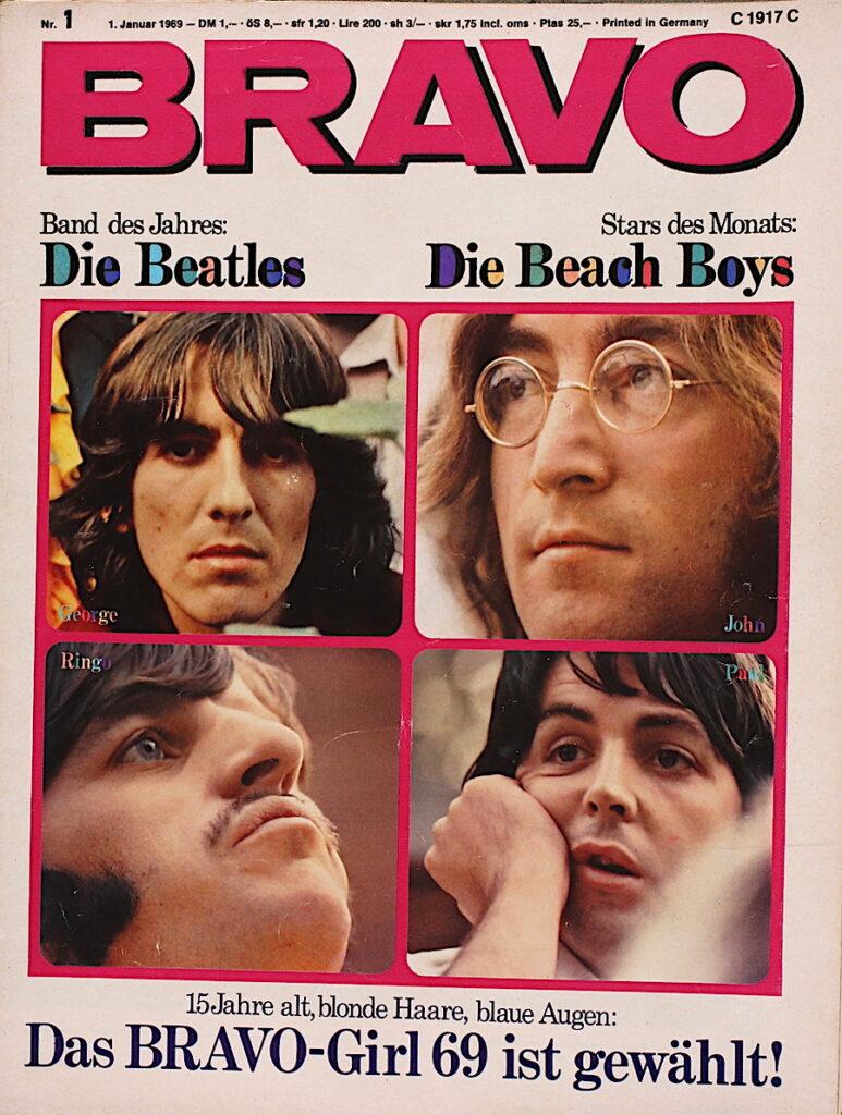 Bravo 1.1.1969 Die Band des Jahres Die Beatles