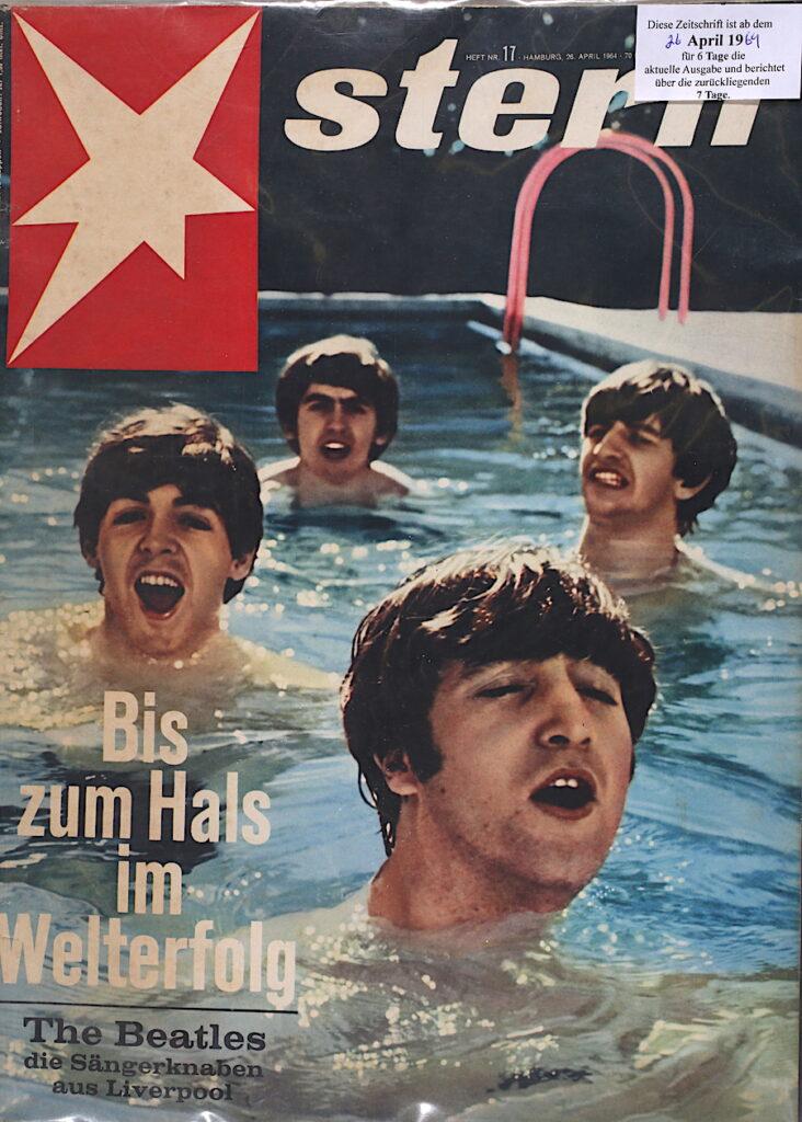 Der Stern vom 26. April 1964 Bis zum Hals im Welterfolg: Die Beatles, die Sängerknaben aus Liverpool.