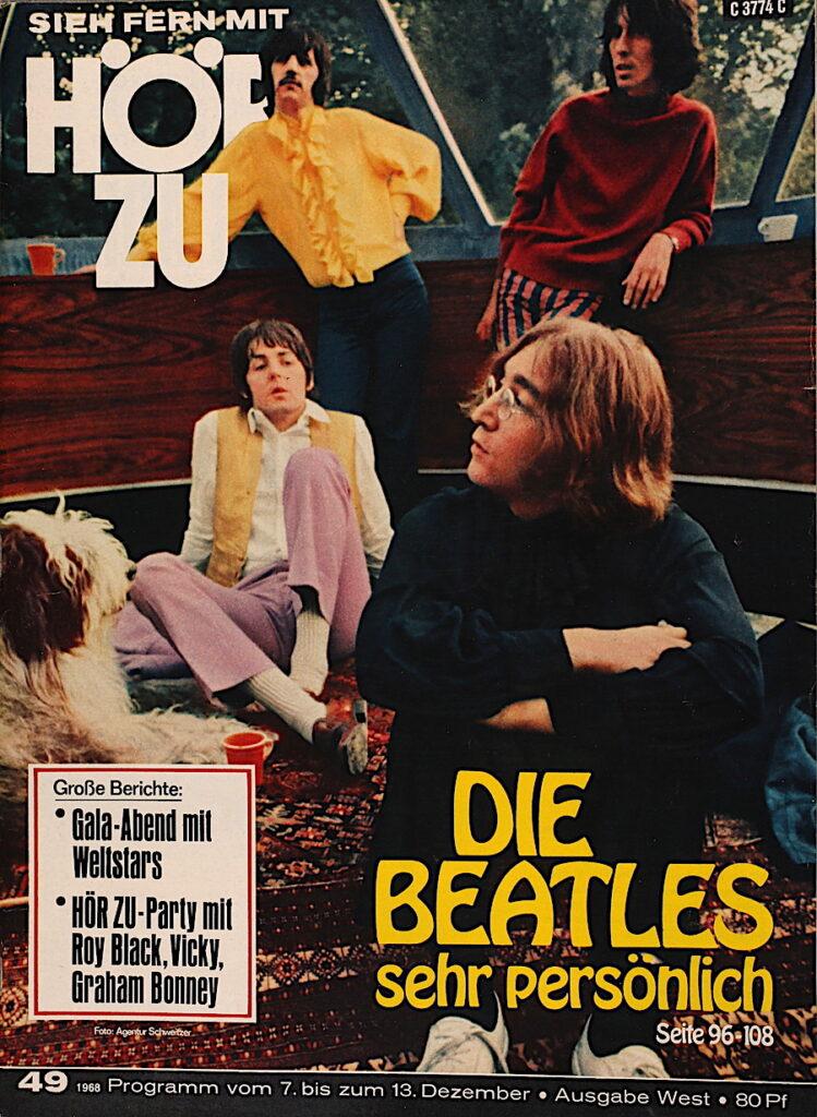 Hörzu vom 7. Dezember 1968 Die Beatles sehr persönlich.