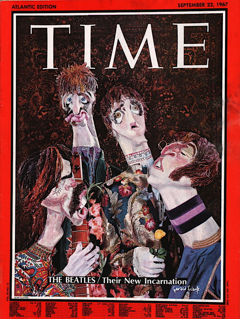 Time Magazin vom 22. September 1967 The Beatles/ Their New Incarnation.