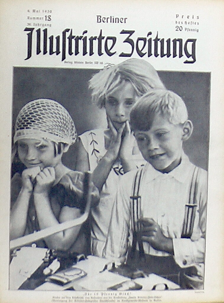 Original Zeitung 1930: Berliner Illustrierte vom 4. Mai 1930 - 10. Mai 1930