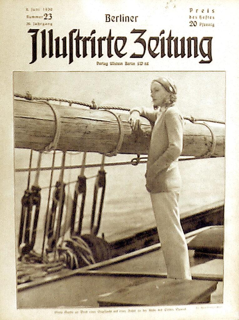 Berliner Illustrierte Zeitung 30. Juni 1930 Greta Garbo