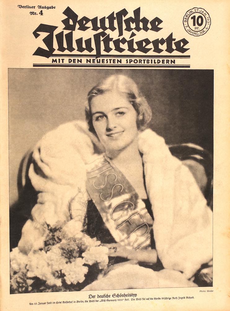 Zeitung vom 27. Januar 1931