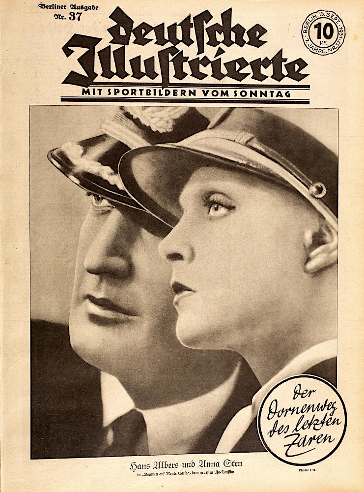 Zeitung 15. September 1931: