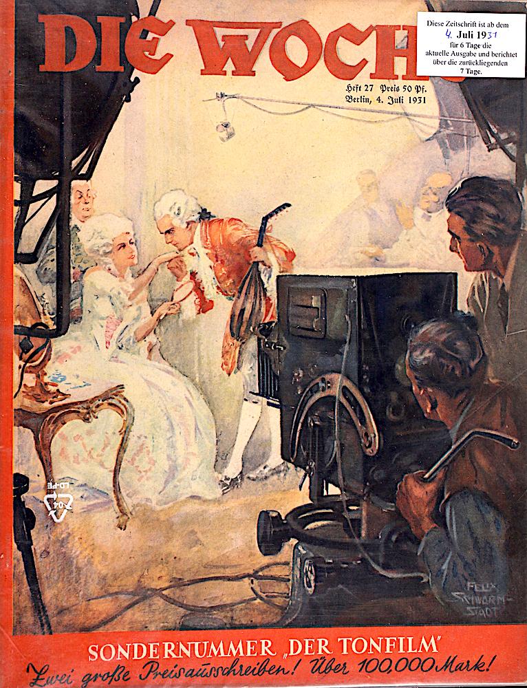 Sondernummer 1931: Der Deutsche Tonfilm
