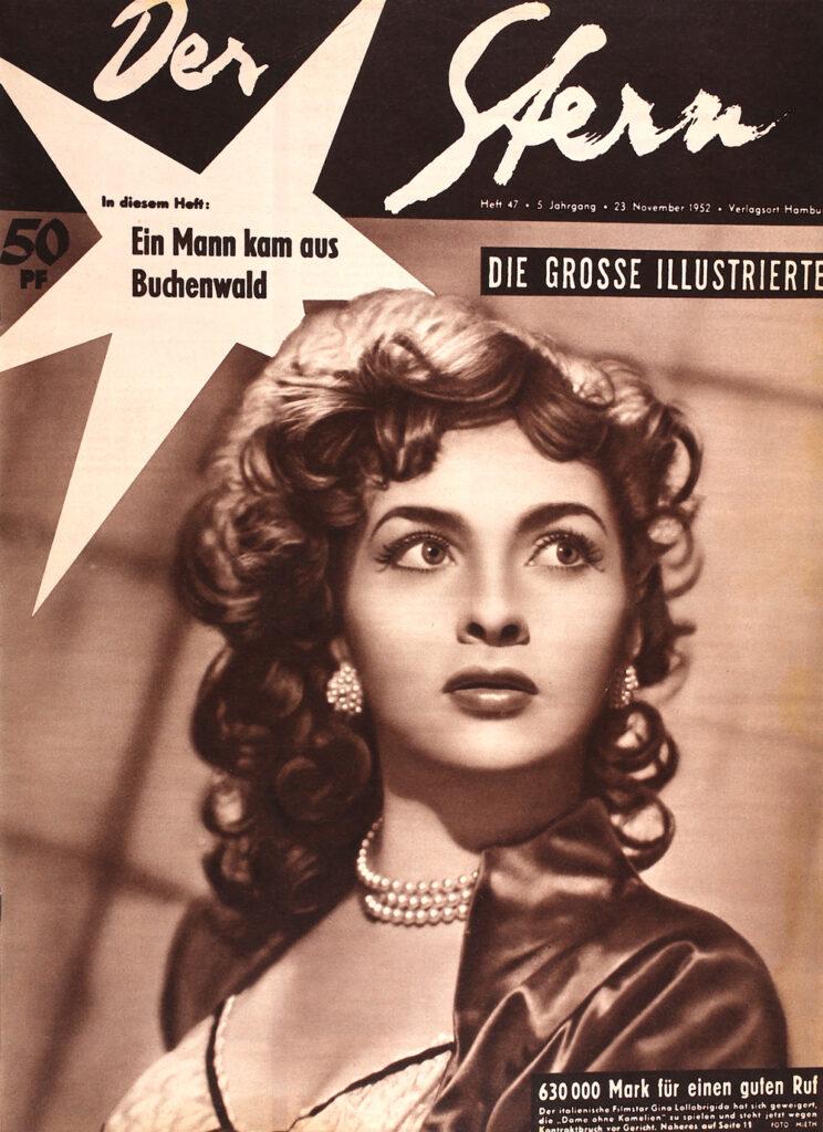Gina Lollobrigida Stern Ausgabe 47/1953