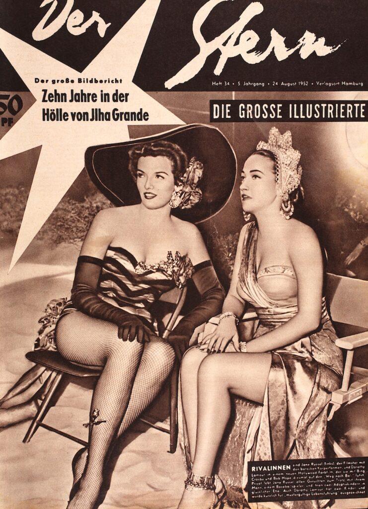 Jane Russel und Dorothy Lamour Stern Ausgabe 34/1952