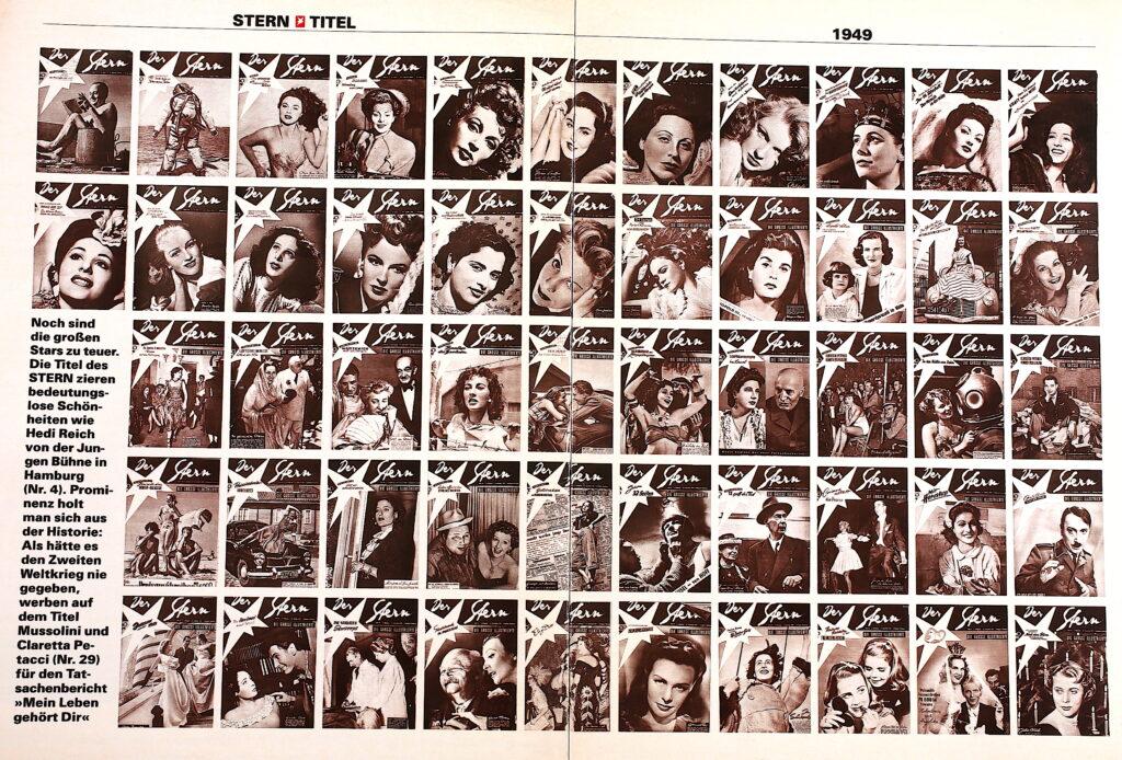 Zeitungen von 1949
