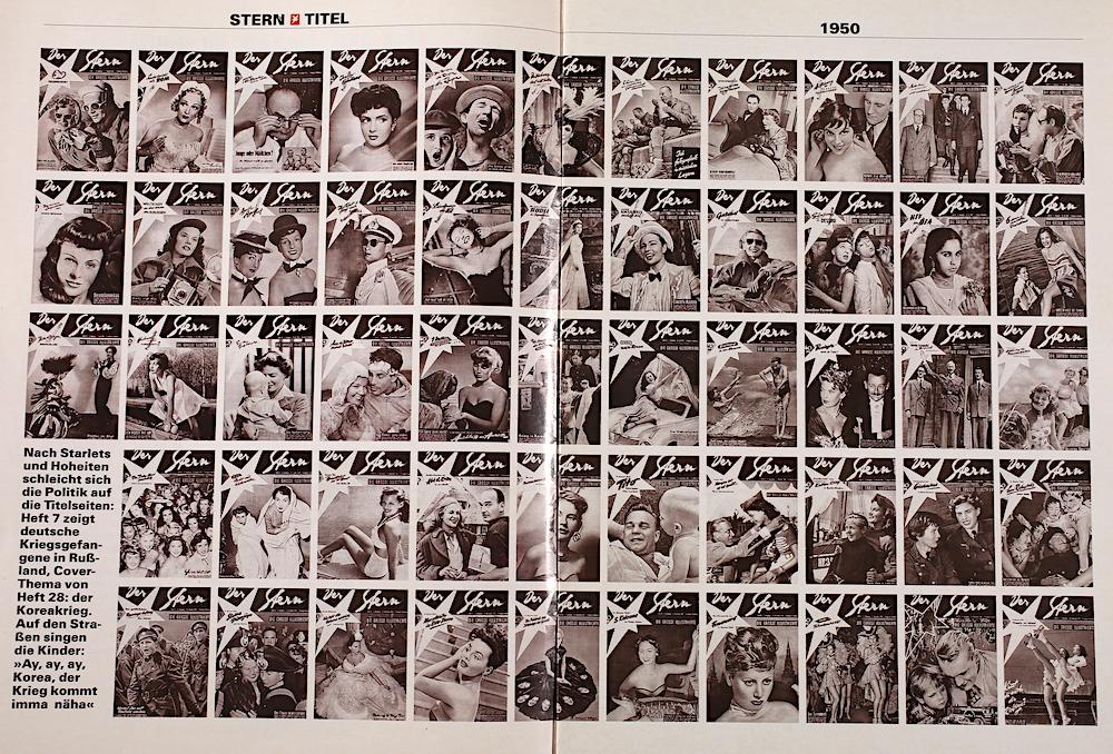 Alte Zeitschriften Cover von  1950