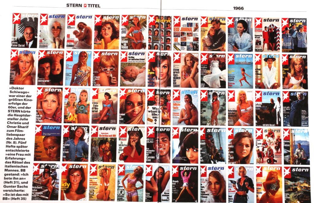 Alle Stern Cover von 1966 mit Sophia Loren