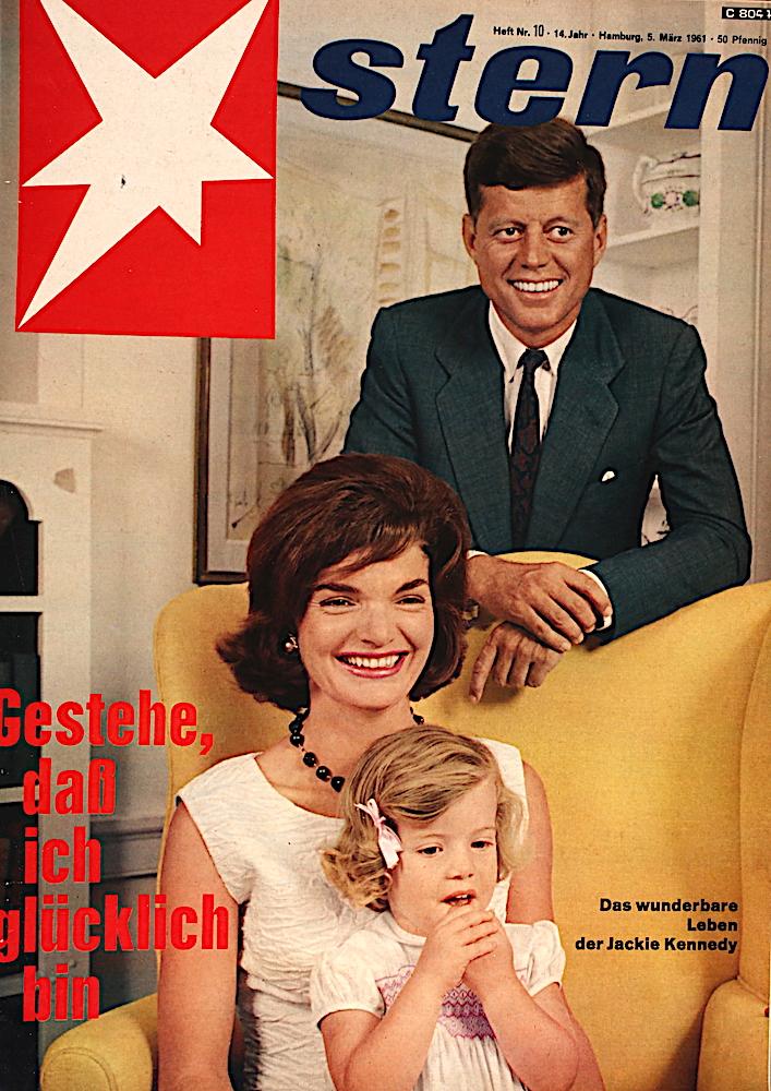 Zeitung 1961: Familie Kennedy