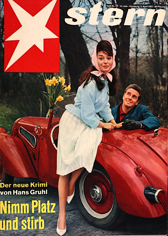 Stern Zeitung: Autos im Jahre 1961