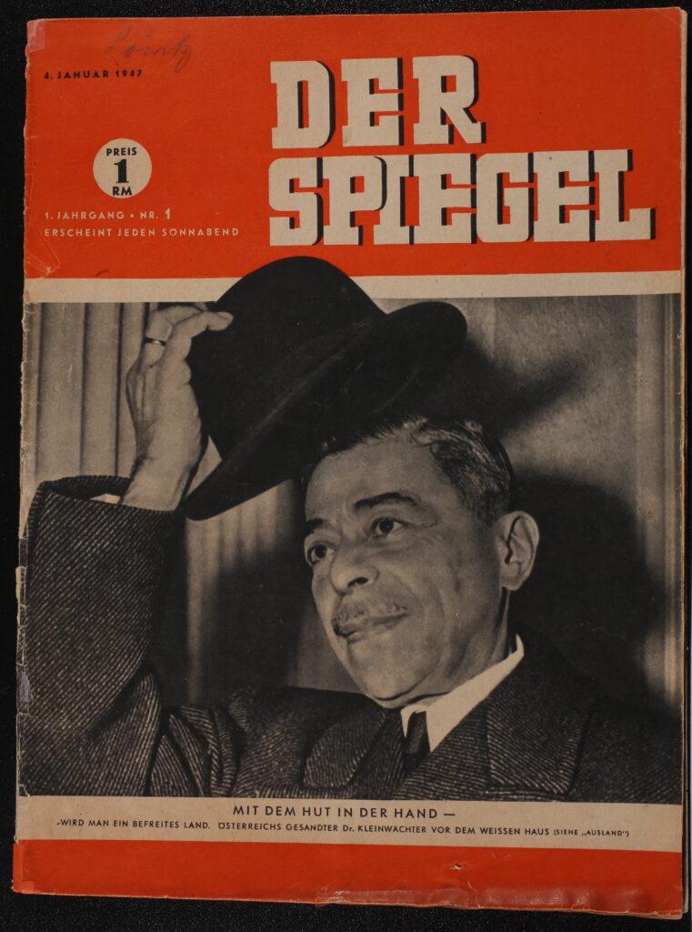 Original Erstausgabe DER SPIEGEL 1947
