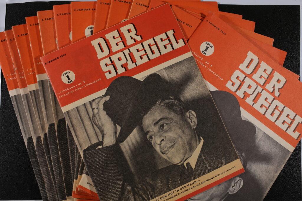 Der Spiegel 1947 Nachdruck: Österreichs Gesandten Dr. Kleinwächter