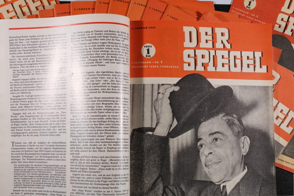 """Nachdruck Erstausgabe DER SPIEGEL in der """"50 Jahre DER SPIEGEL Sonderheft"""""""