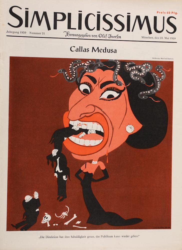 Simplicissimus mit Maria Callas. Aus unserem Archiv.