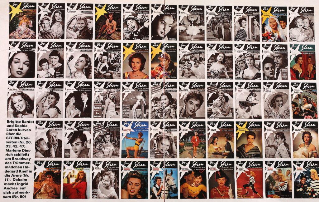Stern Titelbildarchiv 1955