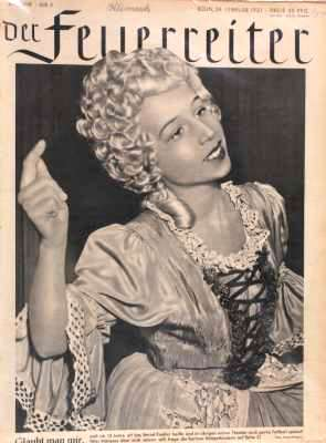 Der Feuerreiter Illustrierte Zeitung vom 24. Februar 1951