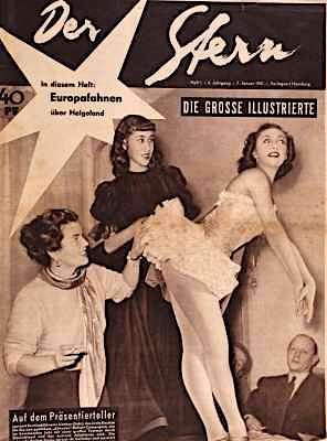 Der Stern Illustrierte Zeitung vom 7. Januar 1951