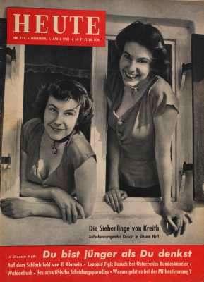Heute Illustrierte Zeitung vom 1. April 1951