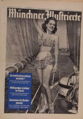Münchener Illustrierte Zeitung  vom 28. Juli 1951
