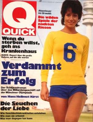 Zeitung 1971: Quick Illustrierte