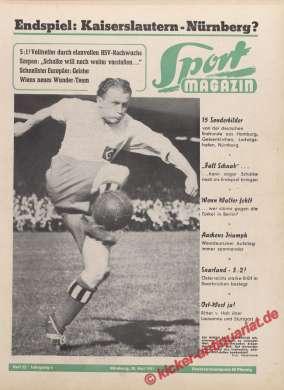 Sport Magazin Zeitung 30.5.1951