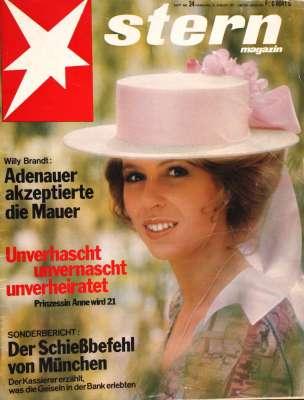 Zeitung: Der Stern vom 15. August 1971