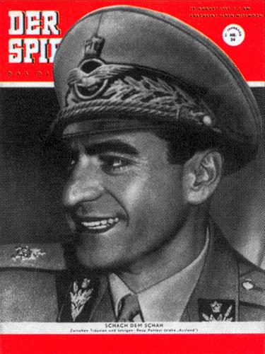 12. Februar: 1951: Der Schah von Persien heiratet: Wir haben die Zeitung dazu!