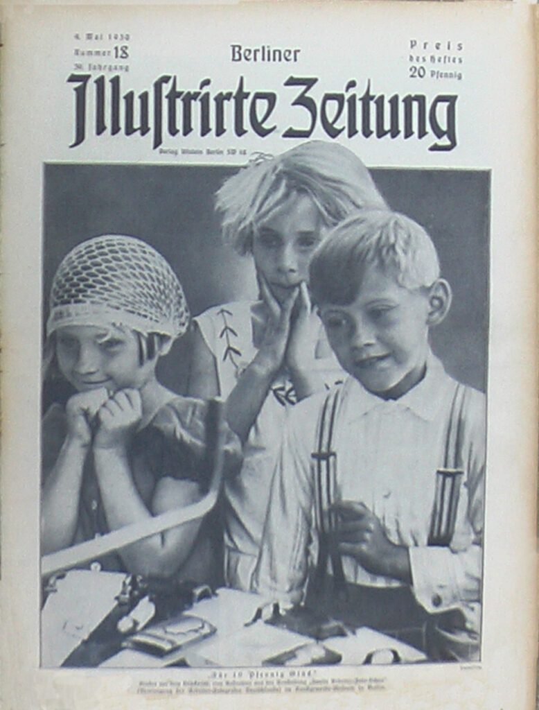 Original Zeitung: Berliner Zeitung von 1930