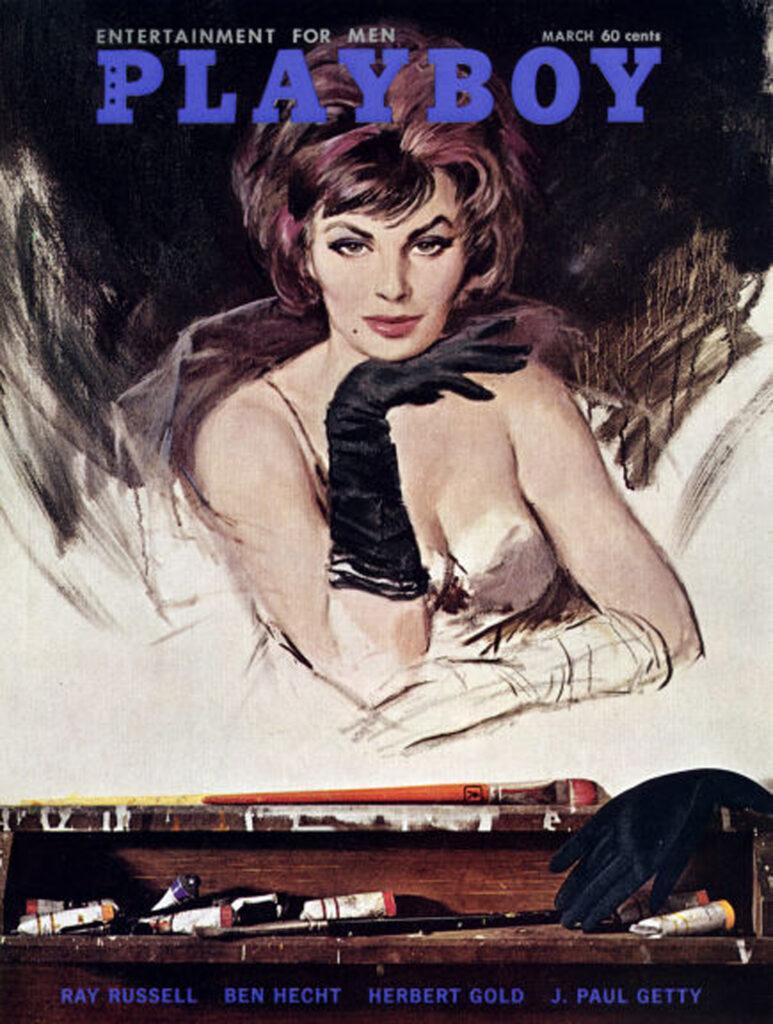 Original Zeitung:  Playboy aus dem Jahre 1962