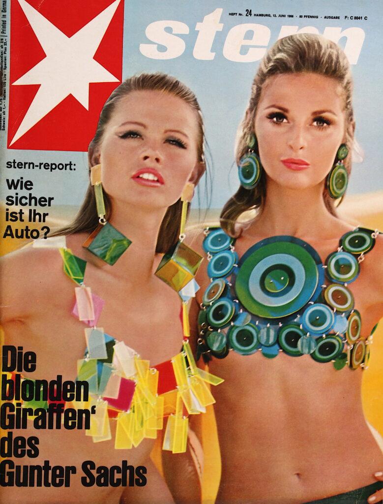 Der Stern 1966: Ausgabe 24: Die blonden Giraffen des Gunter Sachs.